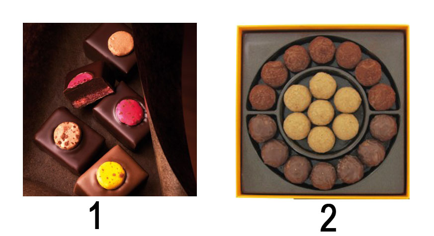 Chocolats de Noël Pierre Hermé - Charonbelli's blog cuisine