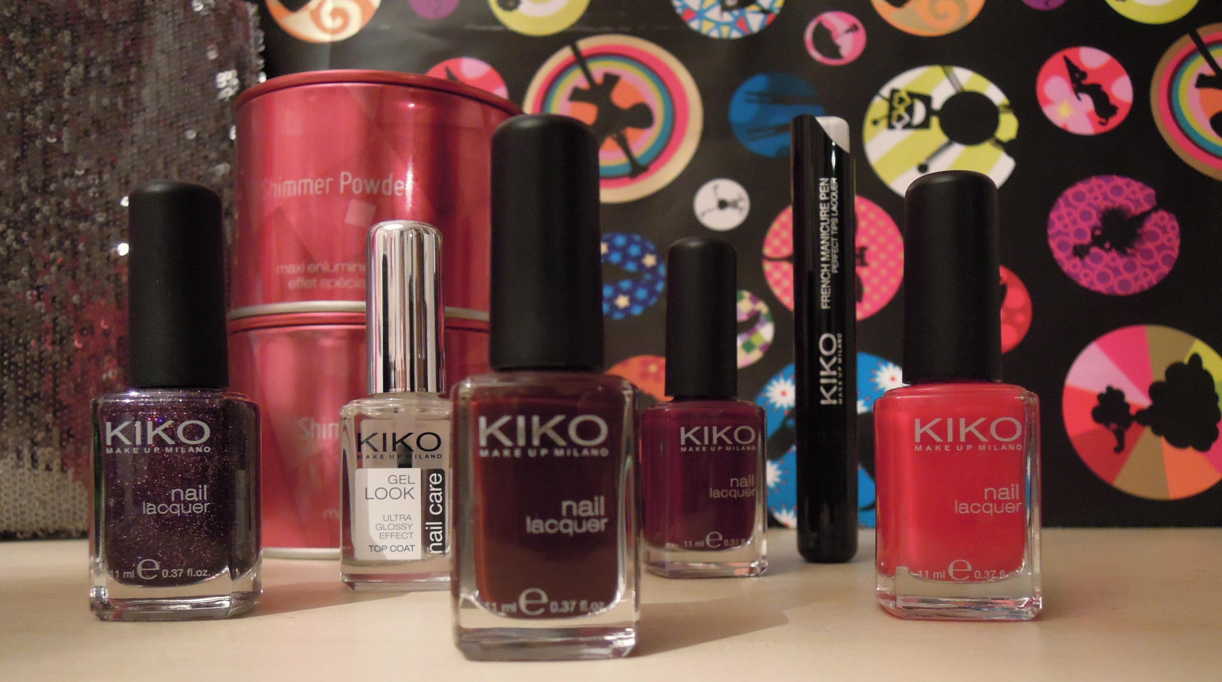 Kiko - Charonbelli's blog beauté