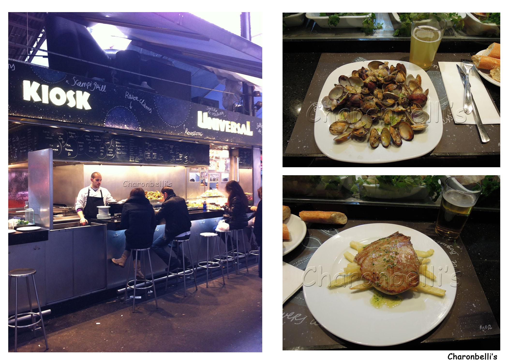 Barcelone - Kiosk Universal - Charonbelli's blog de voyages