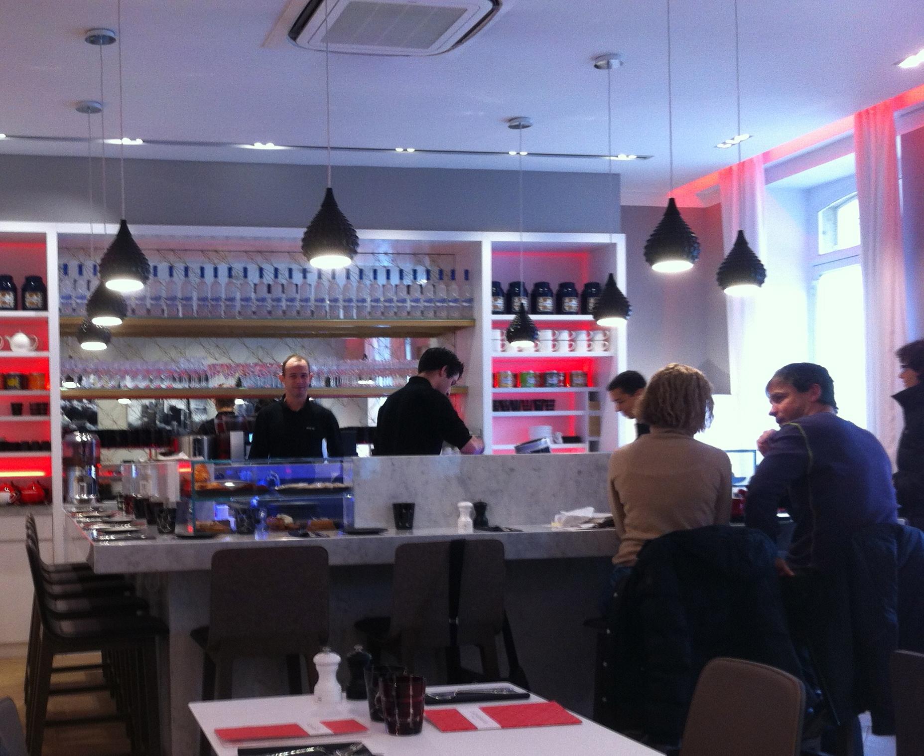 Café Kousmichoff, Flagship store Kusmi - Charonbelli's blog de cuisine