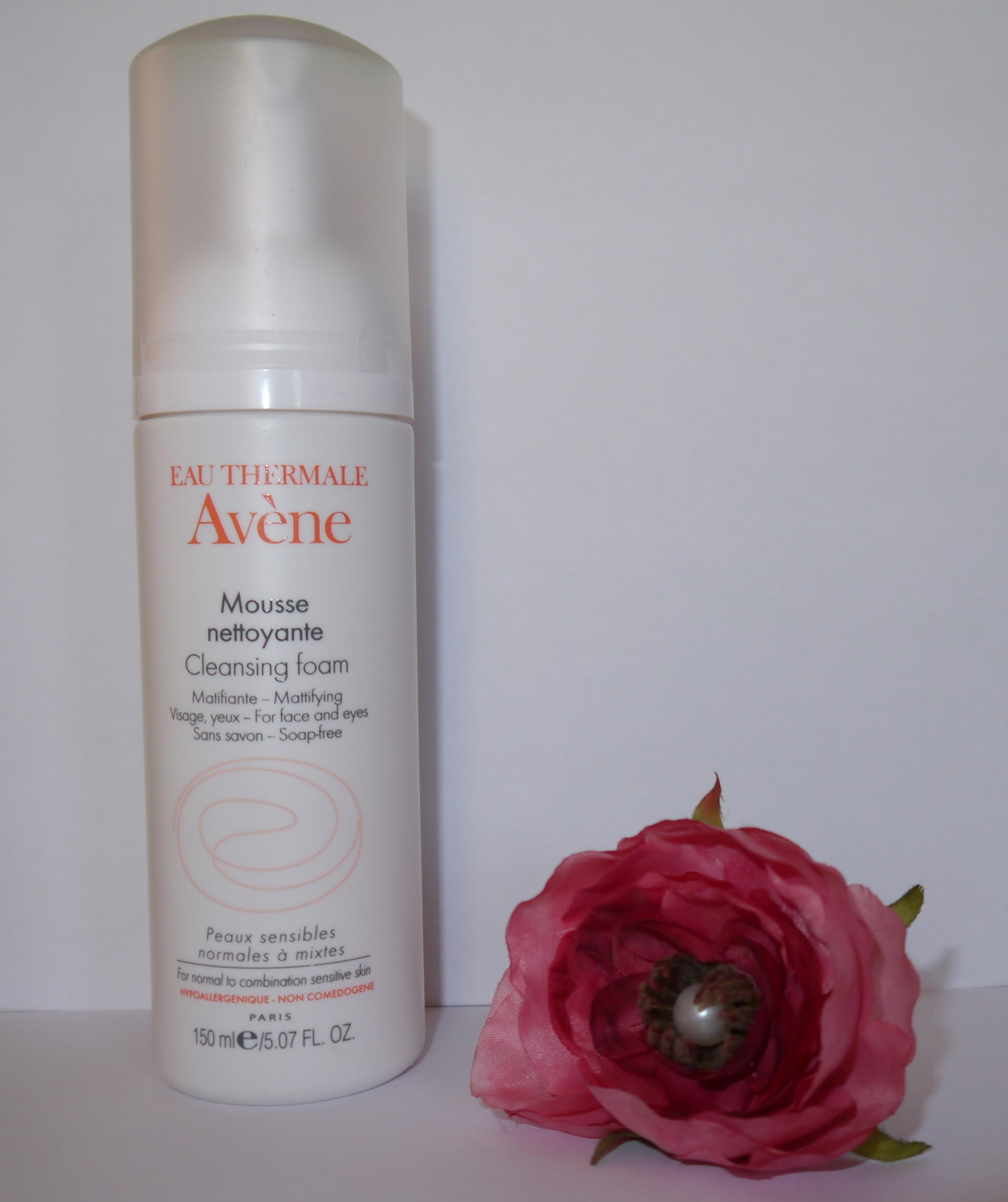 Mousse nettoyante Avène - Charonbelli's blog beauté