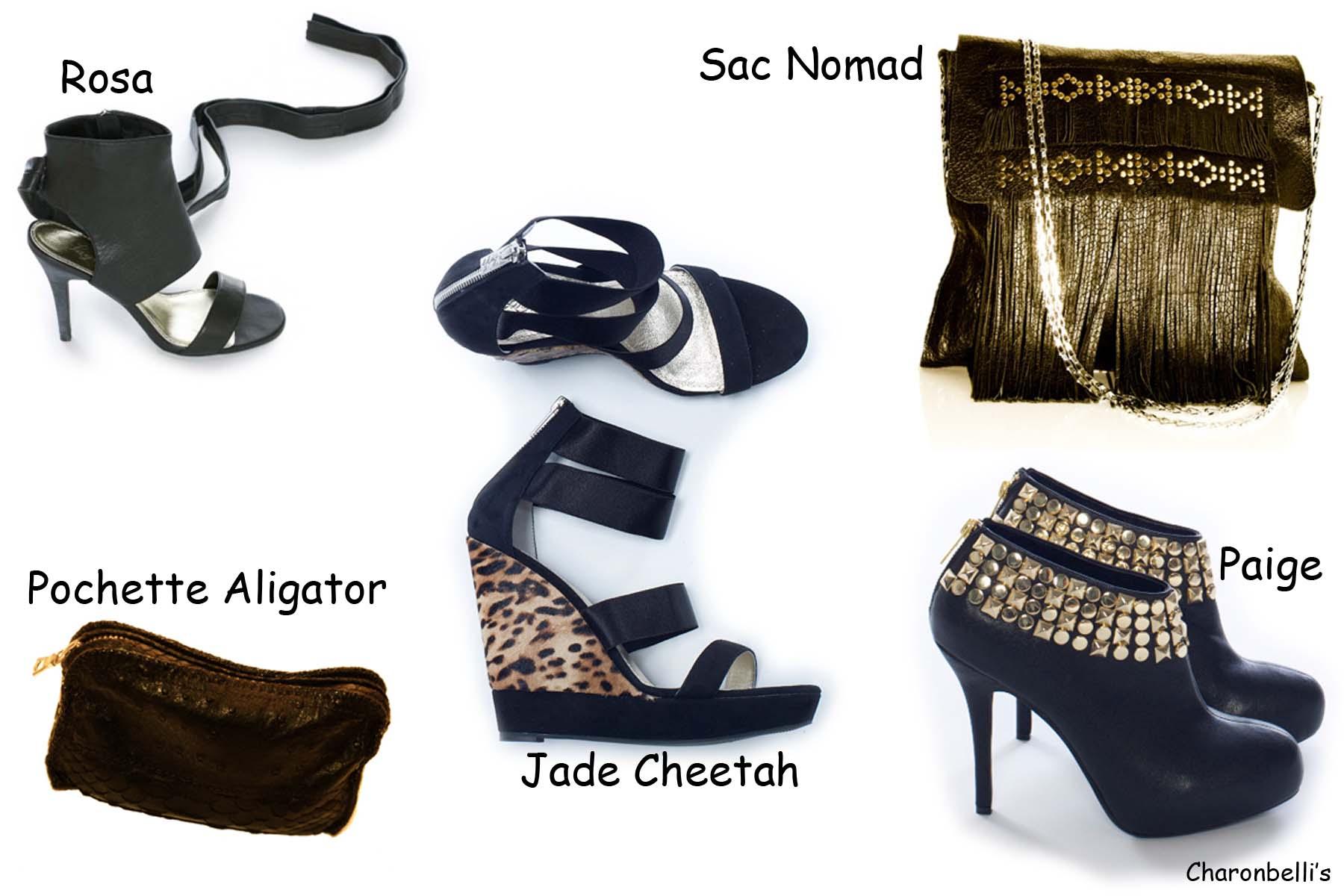 Tialeo Sélection sacs et chaussures - Charonbelli's blog de mode