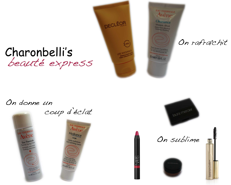 Beauté express, les secrets d'une bonne mine - Charonbelli's blog beauté
