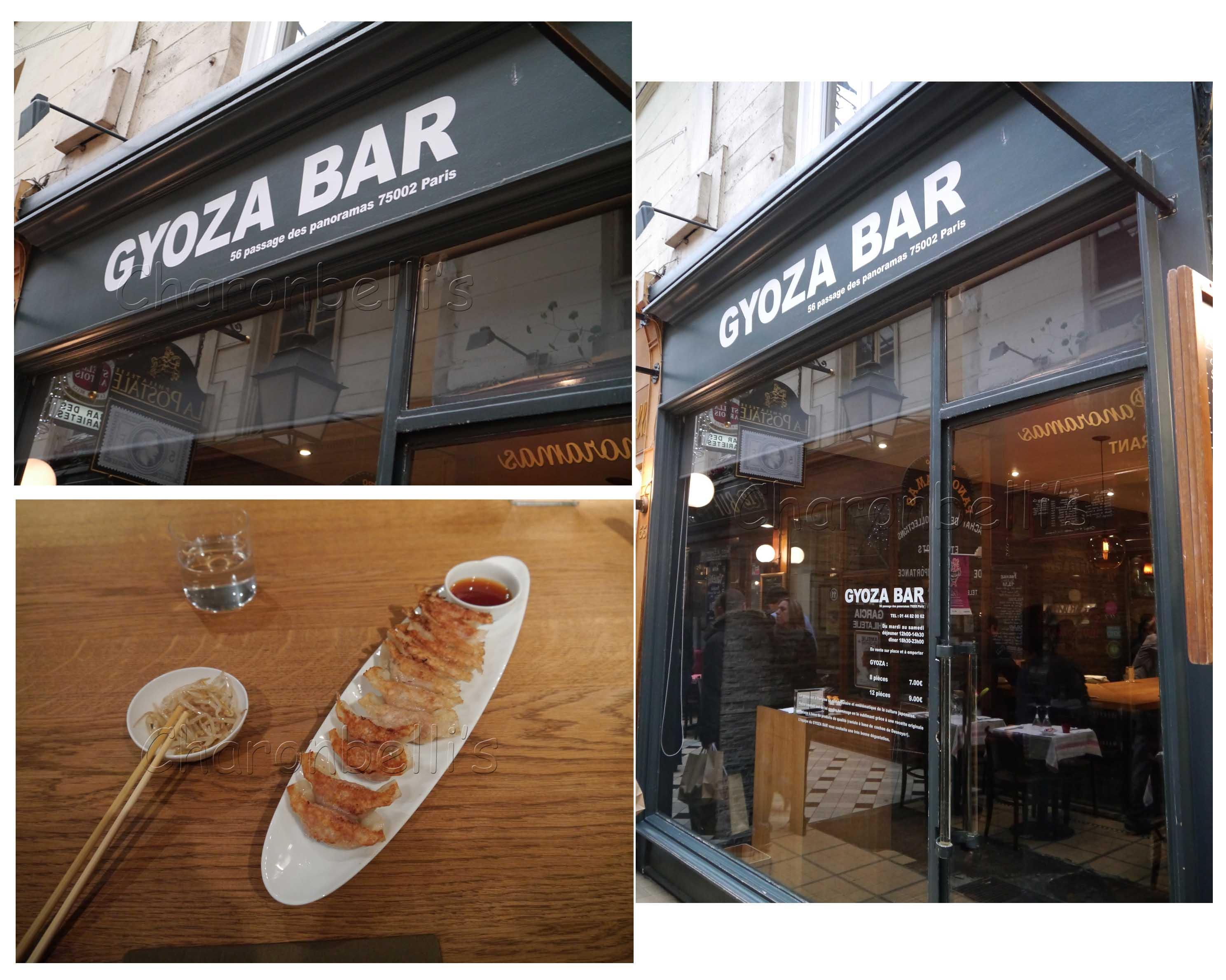 Le Gyoza bar du Passage des Panoramas, Paris - Charonbelli's blog de cuisine