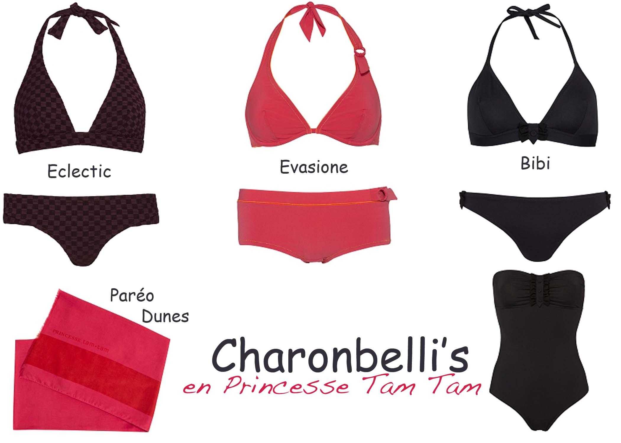 Maillots de bain Princesse Tam Tam - Charonbelli's blog mode