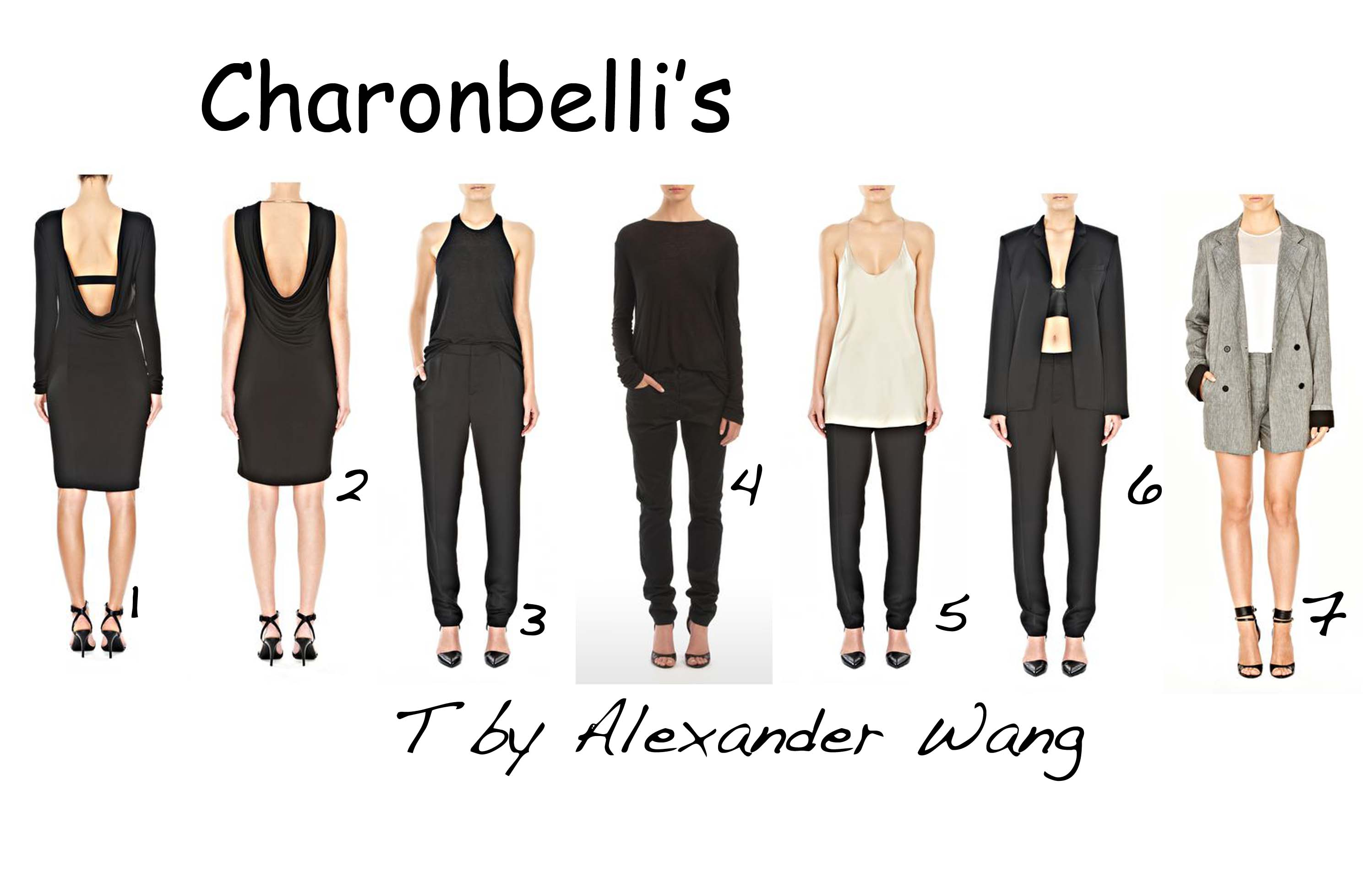 T by Alexander Wang - Charonbelli's blog mode