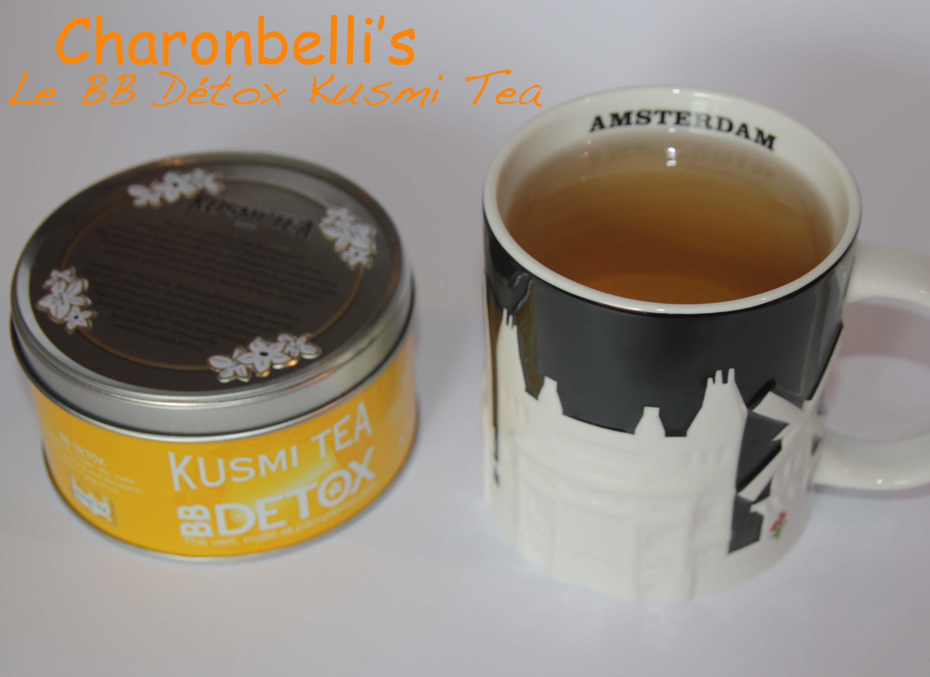BB Détox Kusmi Tea (2) - Charonbelli's blog de cuisine