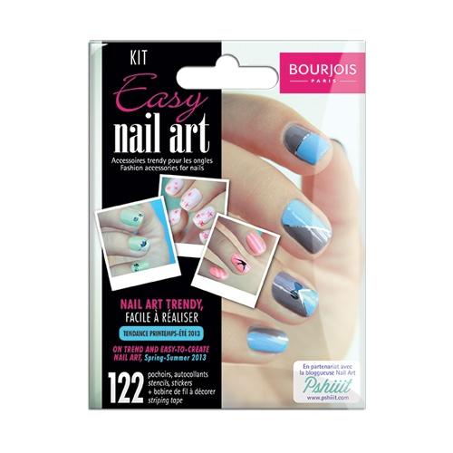 Easy Nail Art de Bourjois - Charonbelli's blog beauté