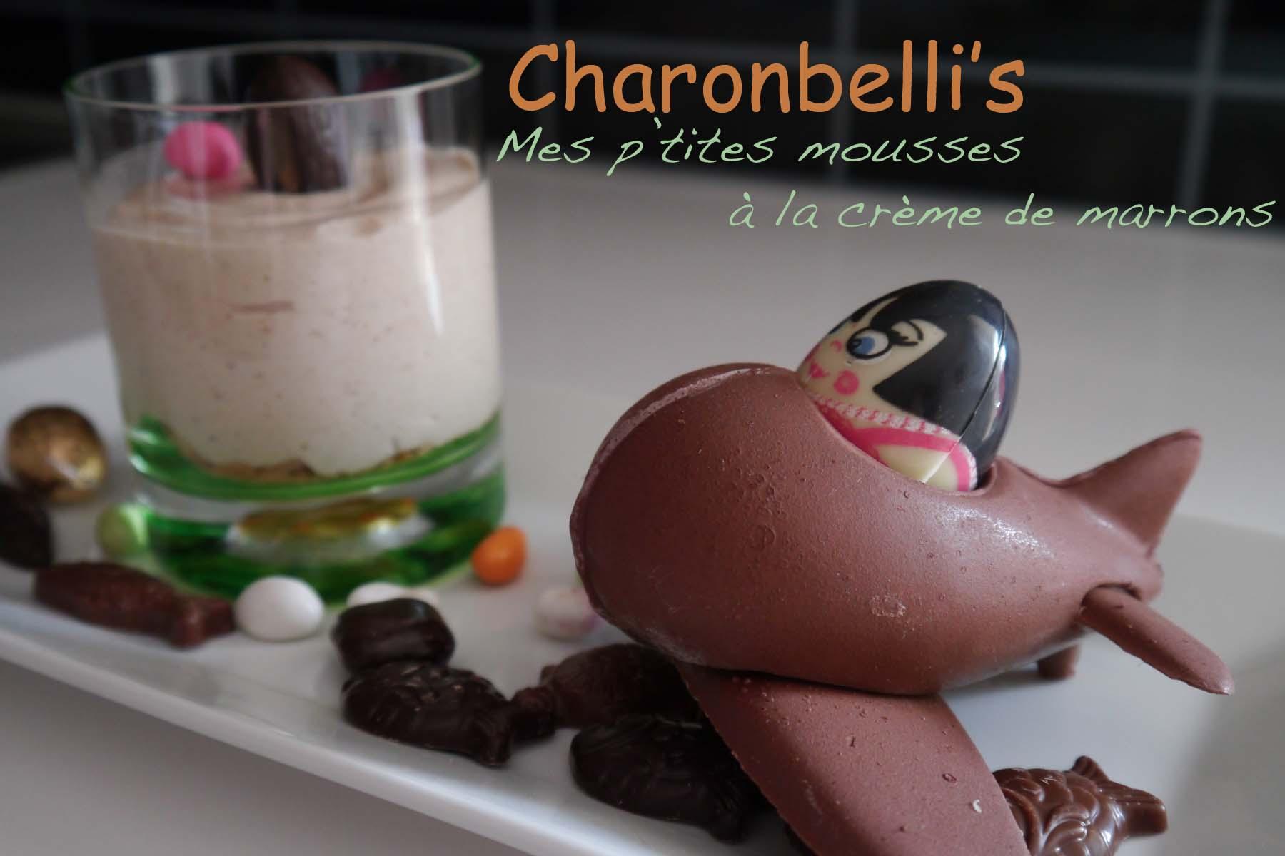 Mes p'tites mousses à la crème de marrons (2) - Charonbelli's blog de cuisine