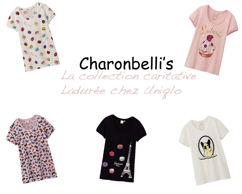 La collection caritative Ladurée chez Uniqlo - Charonbelli's blog mode