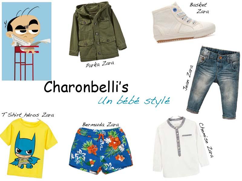 Un bébé stylé, sélection shopping bébé - Charonbelli's blog mode