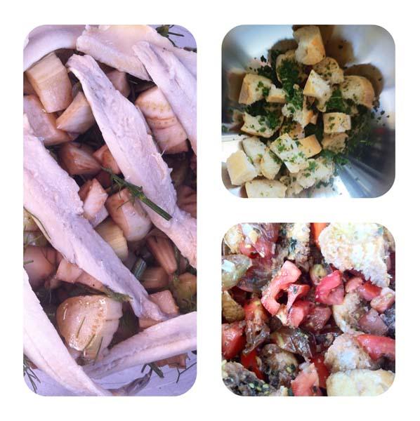 Mes salades pour prolonger l'été (1)- Charonbelli's blog de cuisine