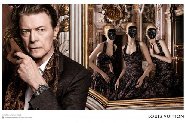 David Bowie pour Louis Vuitton - Charonbelli's blog mode