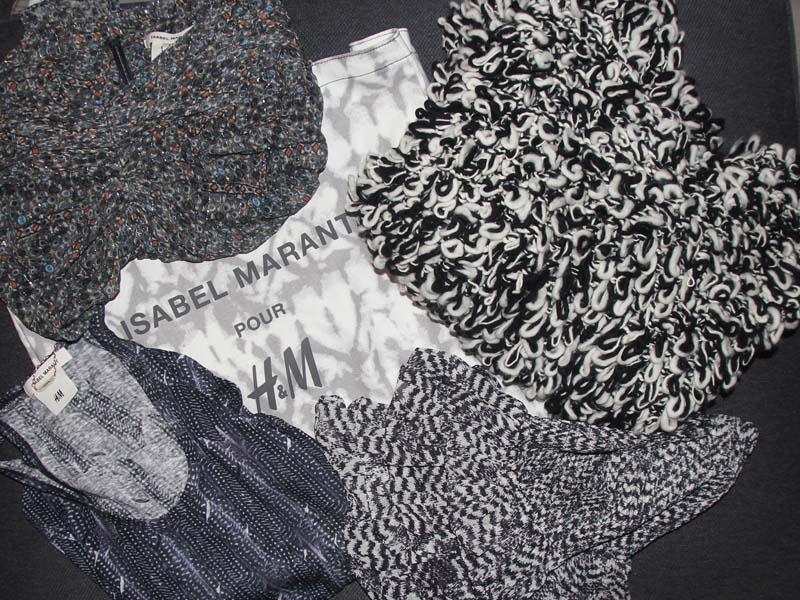 La collection Isabel Marant pour H&M - j'y étais - Charonbelli's blog mode