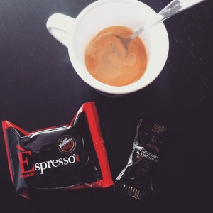 #souvenirs de #vacances ! #coffee time at home ! #espresso…