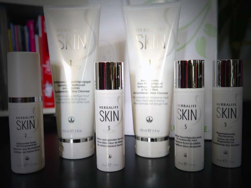 J'ai testé la gamme SKIN Herbalife - Charonbelli's blog beauté