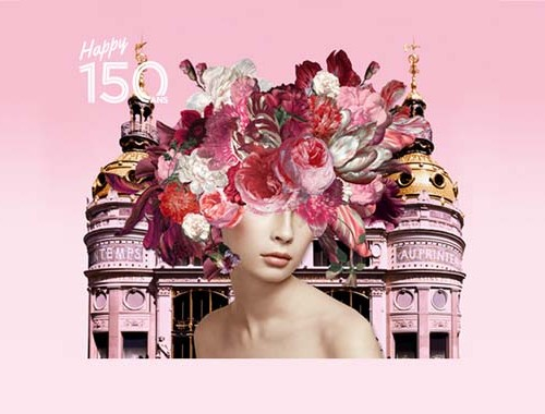 Les 150 ans du Printemps Haussmann - Charonbelli's blog mode
