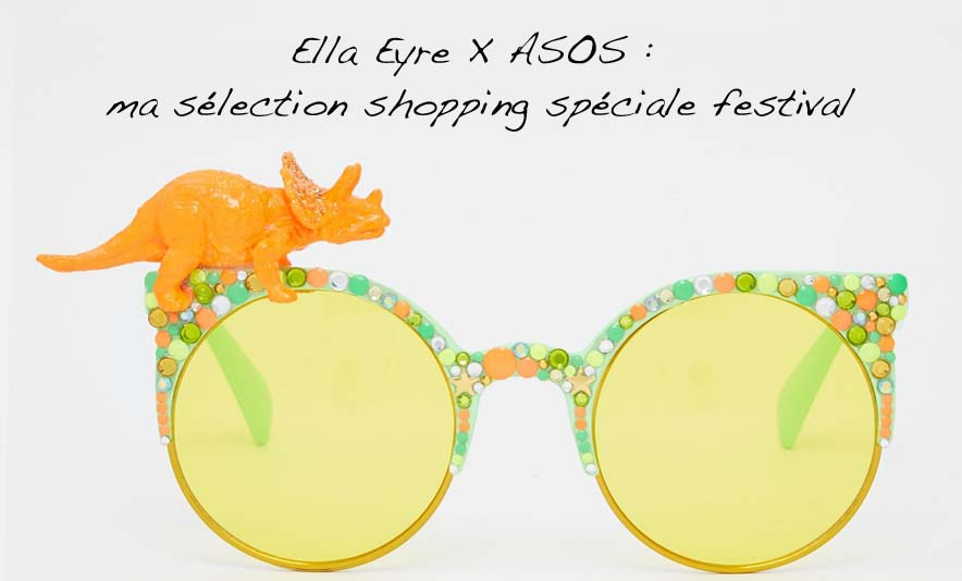 Ella Eyre X ASOS - ma sélection shopping spéciale festival - Photo à la Une - Charonbelli's blog mode