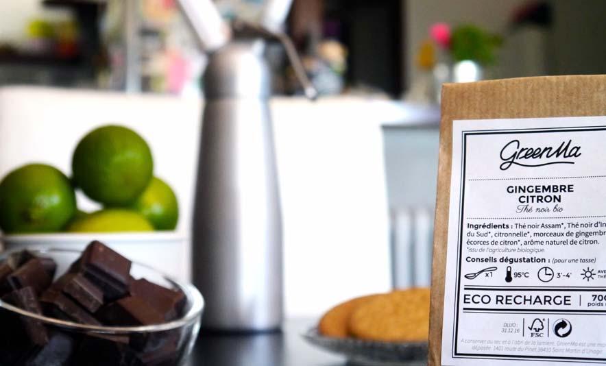 Mon shortbread ultra rapide et sa chantilly au thé Greenma - Photo à la Une - Charonbelli's blog mode