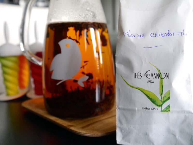 Mon sorbet au thé ultra facile (1)- Charonbelli's blog lifestyle