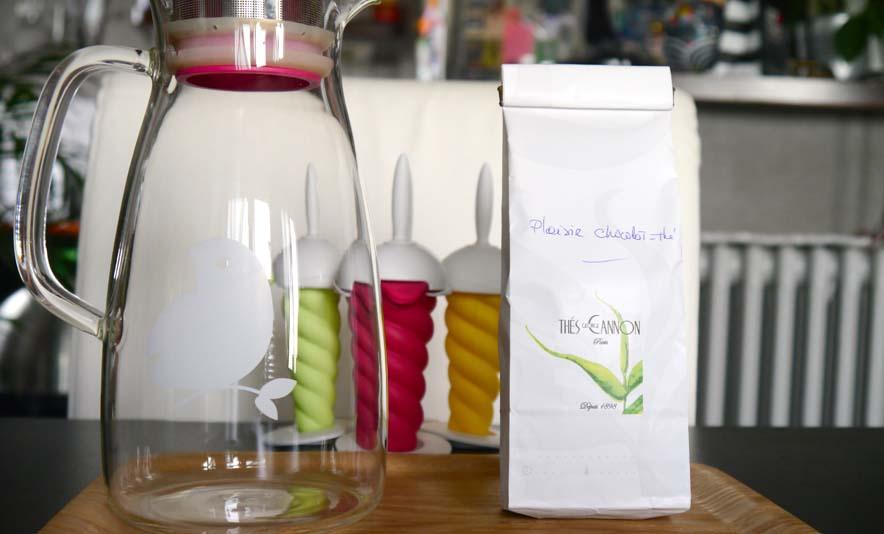 Mon sorbet au thé ultra facile - Photo à la Une - Charonbelli's blog mode
