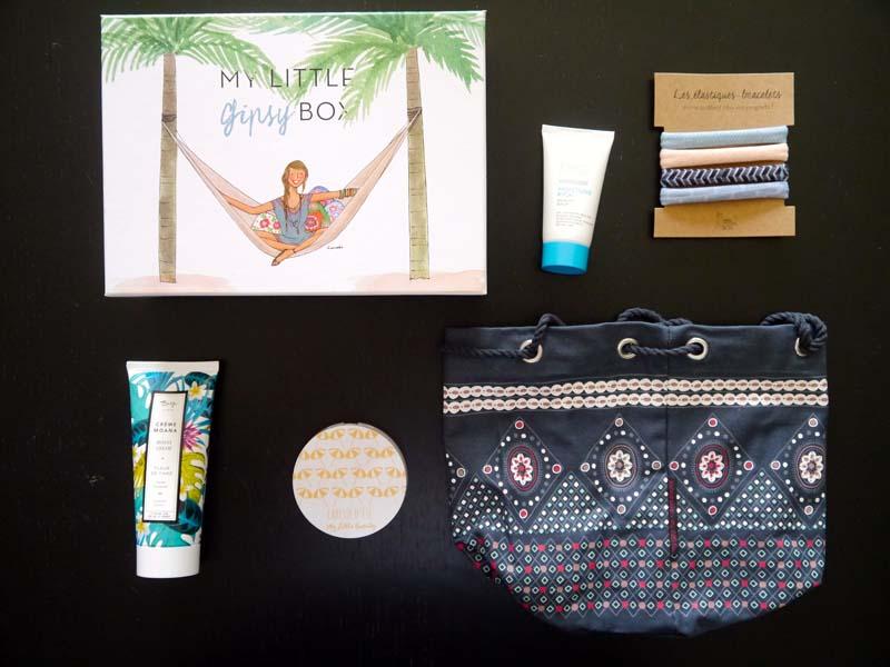La revue de ma My Little Box du mois d'août (1) - Charonbelli's blog beauté
