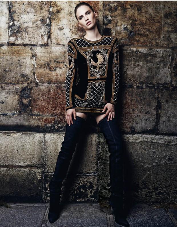 Balmain X HM - Charonbelli's blog mode