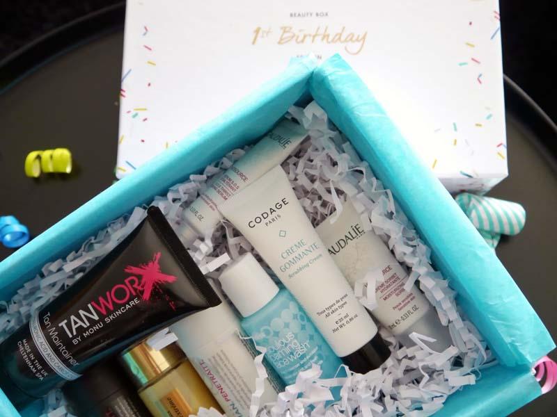 Look Fantastic 1st Birthday beauty box - le récap ! (5) - Charonbelli's blog beauté