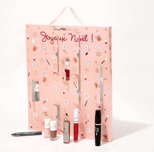 Calendrier de l'Avent Monoprix - Je veux un calendrier de l'Avent beauté ! - Charonbelli's blog beauté