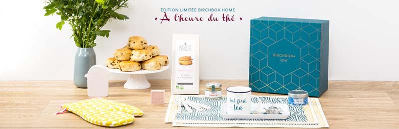Edition limitée Birchbox Home A L'heure du thé - Charonbelli's blog beauté
