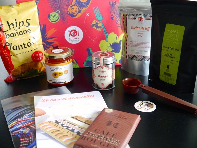 Partir en Éthiopie avec ma Kitchen Trotter box - Charonbelli's blog lifestyle