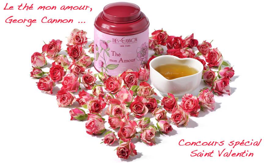 Concours special Saint Valentin en partenariat avec les thes George Cannon - Charonbelli's blog mode